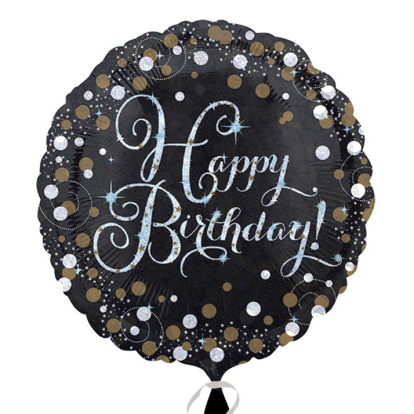 Gold Sparkling Celebration Foil Balloon